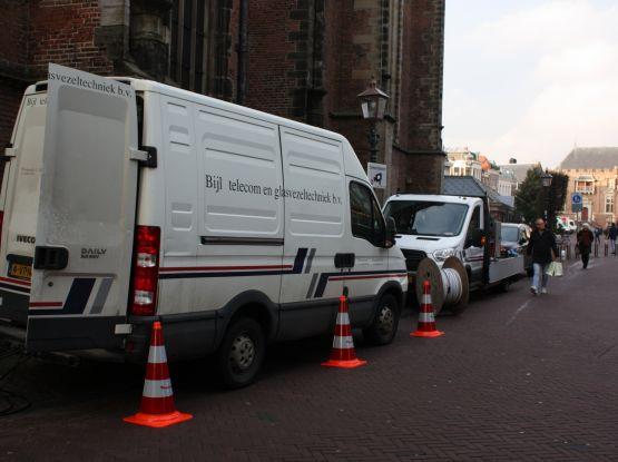 Upgraden glasvezelnetwerk gemeente Haarlem
